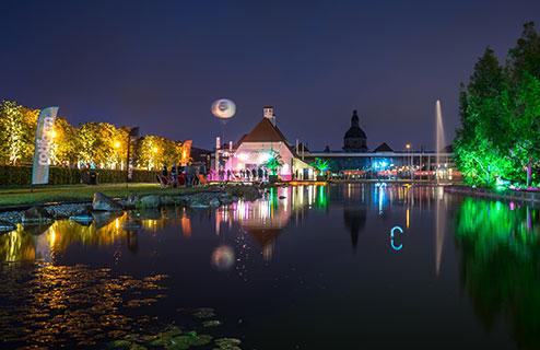 Ostrapark Dresden – Areal der Vielfalt