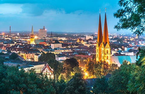 Erfolgreich Tagen in der Kongress-Stadt Bielefeld