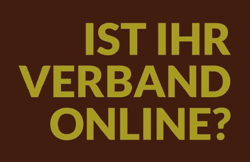 Ist Ihr Verband online?