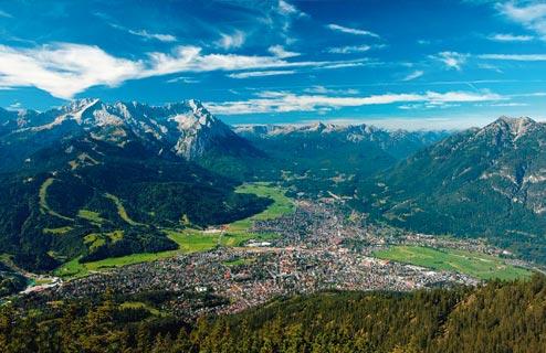 Mit Garmisch-Partenkirchen zu neuen Gipfeln